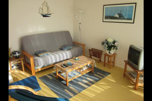 Coin salon / séjour - Location de vacances - Quiberon