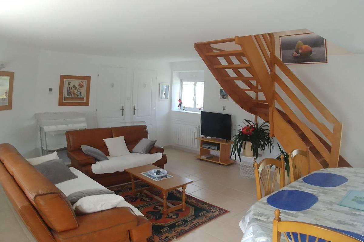 Le salon - Location de vacances - Ploemeur