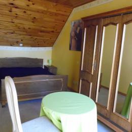 La 2éme chambre plus petite mais reposante - Location de vacances - Ruffiac
