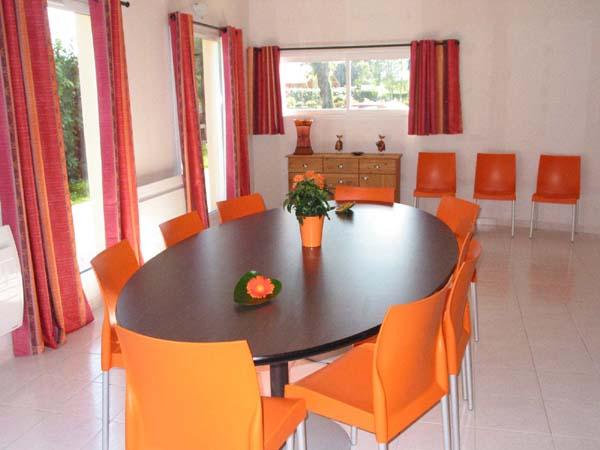 Salle à manger  - Location de vacances - Saint-Congard