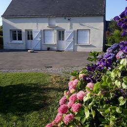 façade de la maison - Location de vacances - Férel