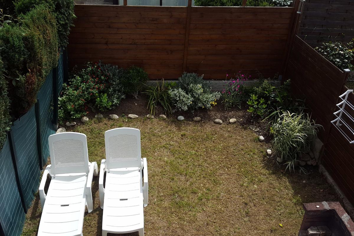 Jardin clos - Location de vacances - Guidel