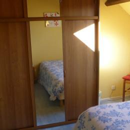 Chambre parentale - Location de vacances - Guidel