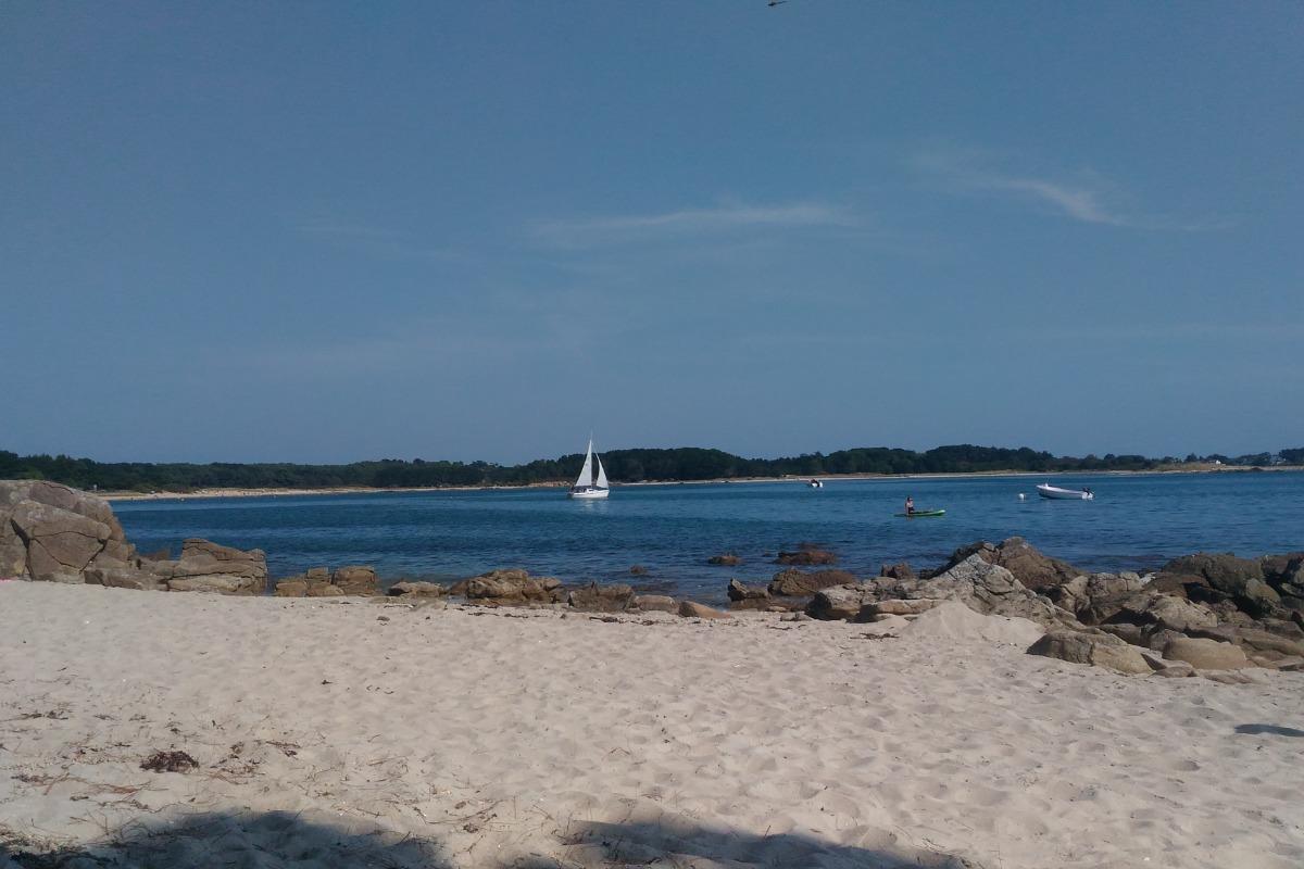 plage de Beaumer en face de l'appartement - Location de vacances - Carnac