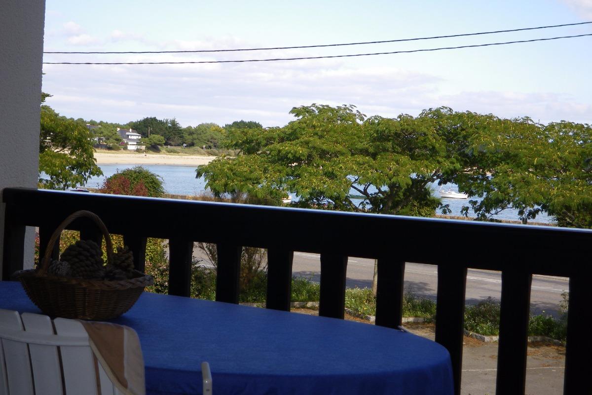 terrasse face à la mer et à la plage - Location de vacances - Carnac