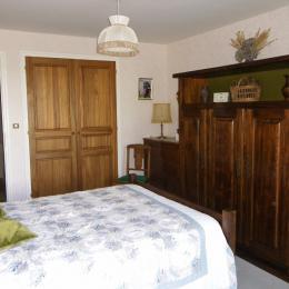 chambre donnant sur la terrasse - Location de vacances - Carnac
