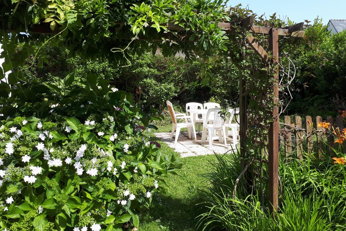 Jardin privatif - Location de vacances - La Trinité-sur-Mer
