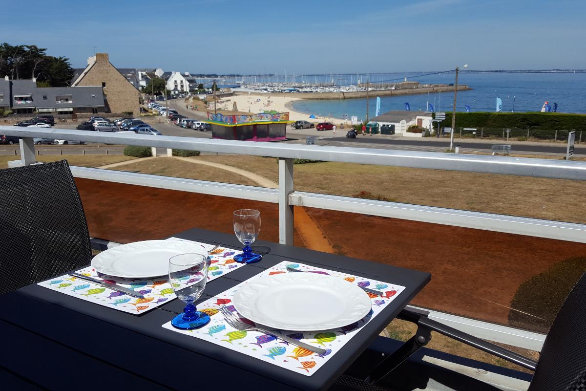 TERRASSE avec vue mer - Location de vacances - Quiberon