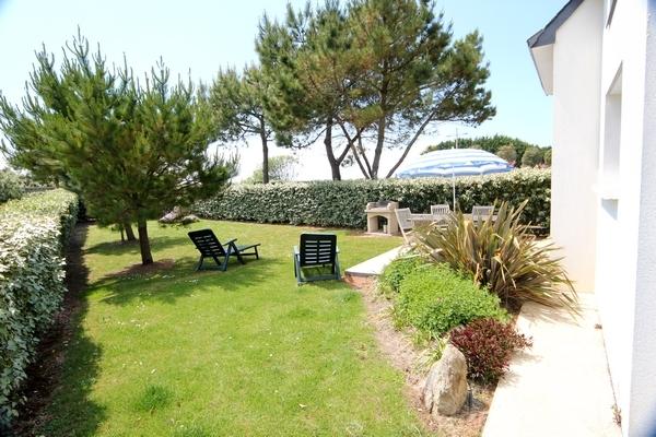 Le Jardin et la terrasse - Location de vacances - Erdeven