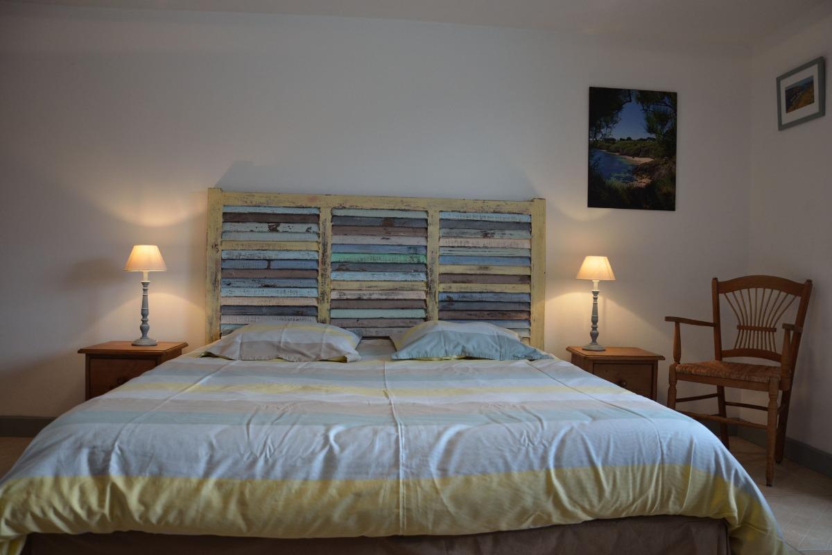 Un lit de 160 cm - Location de vacances - Sauzon