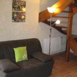 canapé séjour - Location de vacances - Noyalo