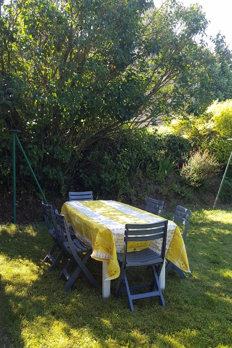 Salon de jardin - Location de vacances - Allaire