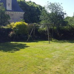 Jardin avec balançoire - Location de vacances - Allaire