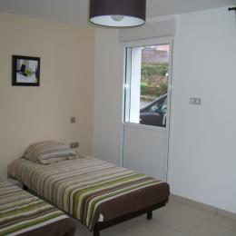 chambre 2lits 90cm - Location de vacances - Plouharnel