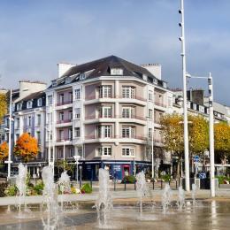 Vue des balcons - Location de vacances - Lorient
