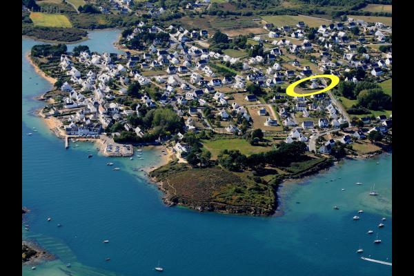 Vue de la location  - Location de vacances - Plouhinec
