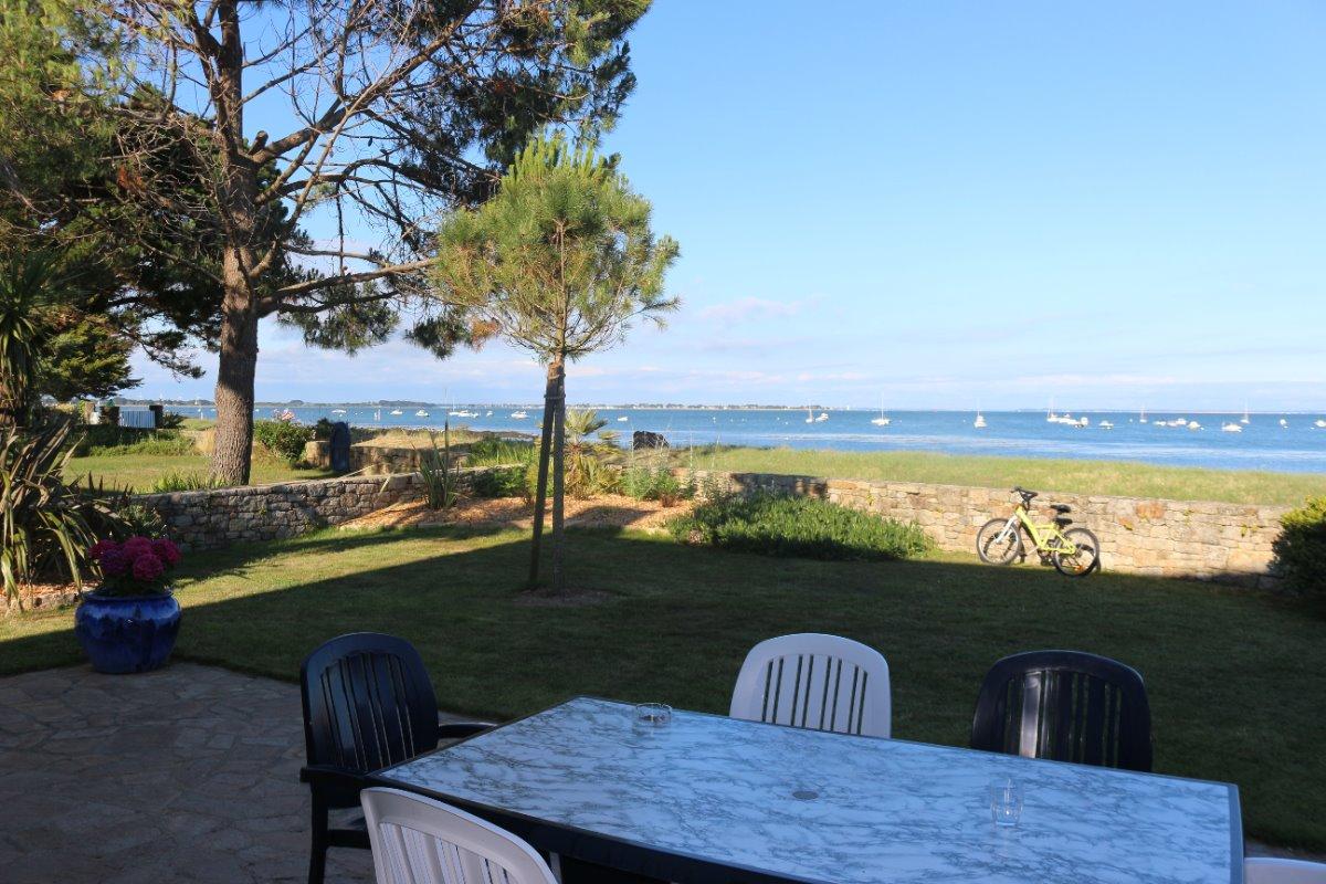Vue de la terrasse - Location de vacances - Sarzeau