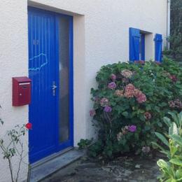 L'entrée de la maison - Location de vacances - Groix