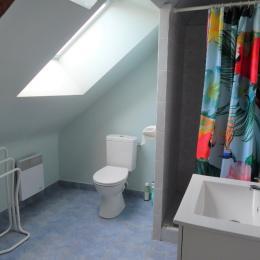 Salle d'eau - Location de vacances - Saint-Marcel