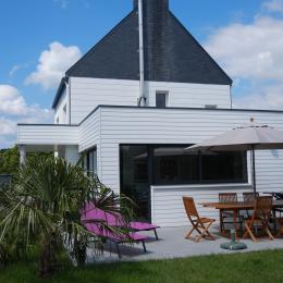 Villa Camory, grande terrasse équipée (transats, barbecue à gaz Weber ...) - Location de vacances - Saint-Philibert