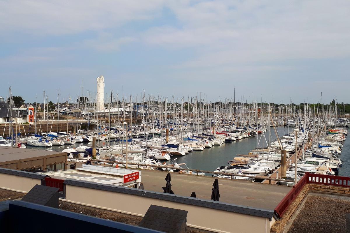 Vue sur le port du Crouesty - Location de vacances - Arzon