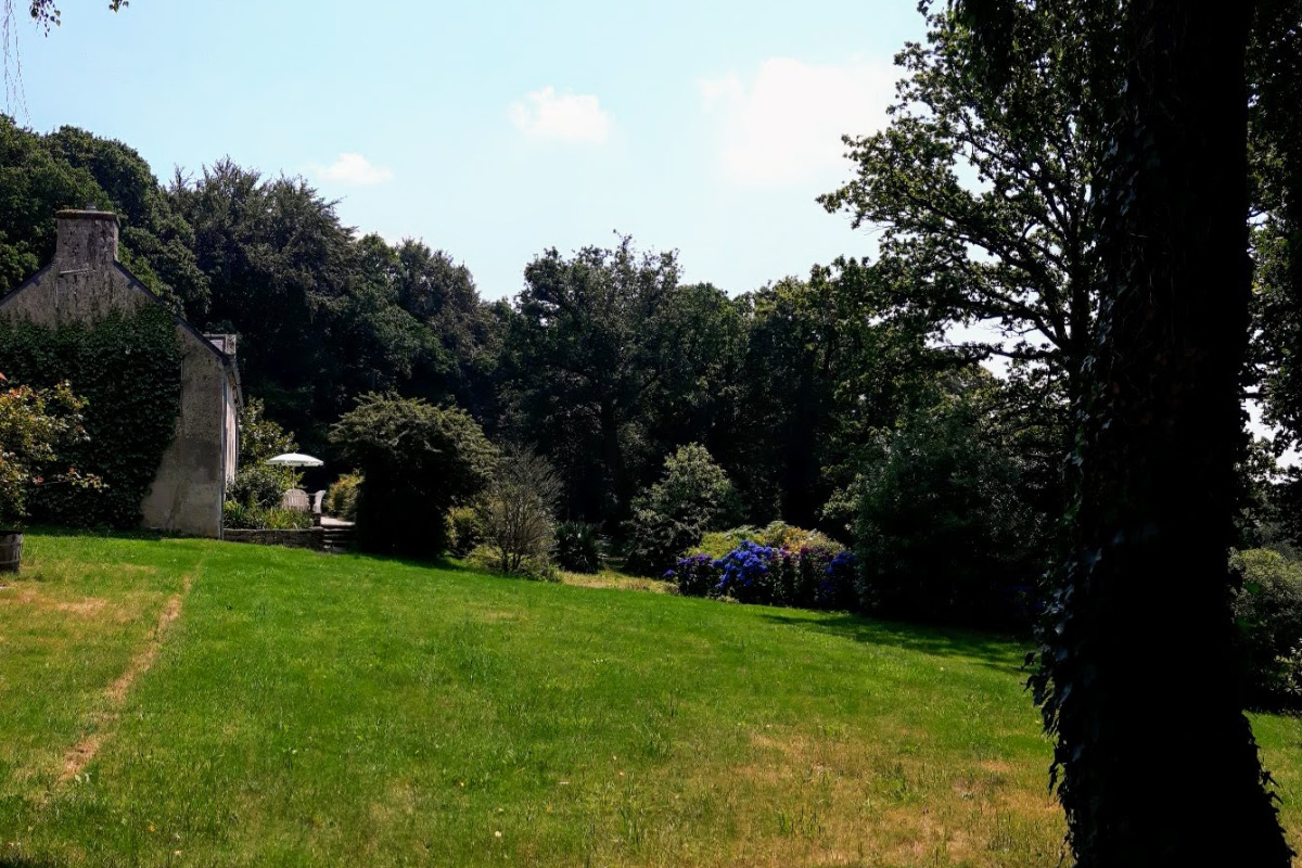 Le gîte et son environnement calme et verdoyant - Location de vacances - Plumelec