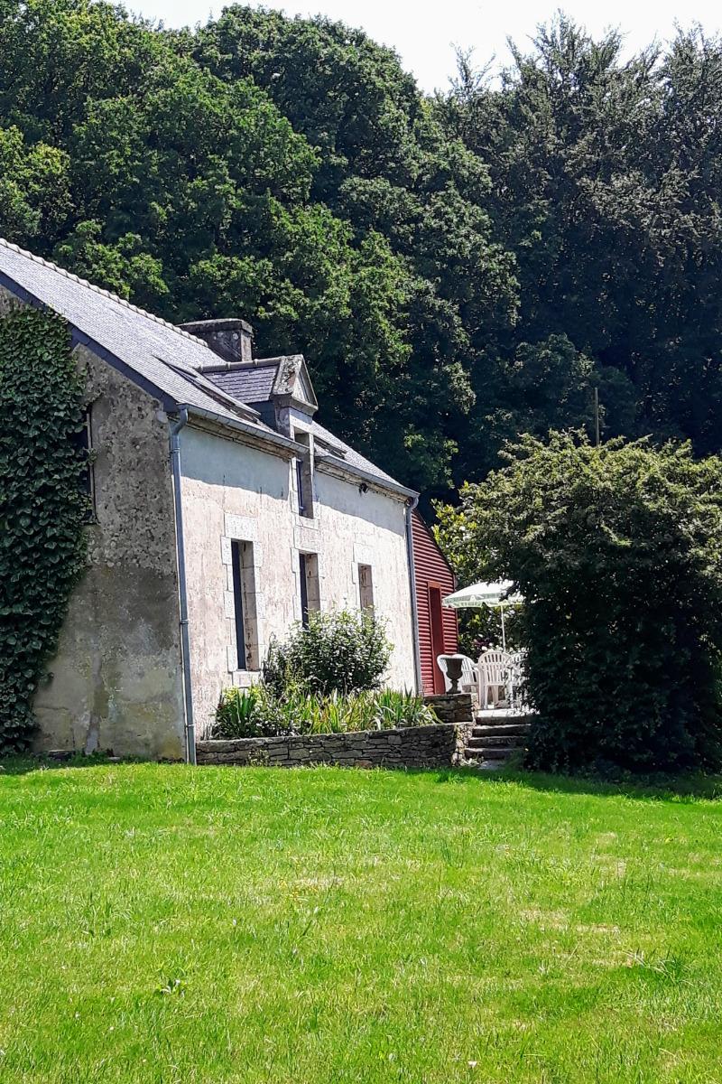 Le gîte et sa terrasse plein sud - Location de vacances - Plumelec