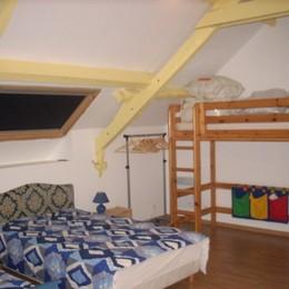 Chambre dortoir - Location de vacances - La Vraie-Croix