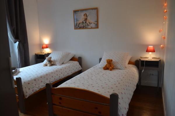 La chambre enfants de la chambre familiale Tendresse - Chambre d'hôtes - Ploërdut