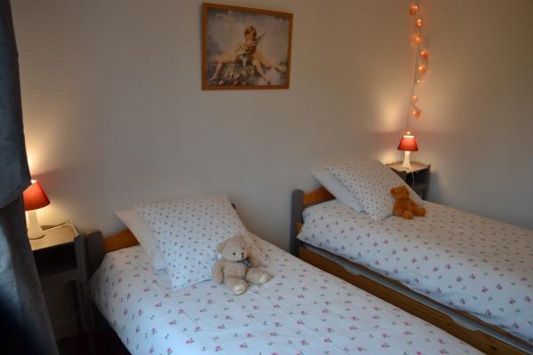 Un troisième lit simple peut être ajouté à la demande - Chambre d'hôtes - Ploërdut