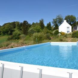 Une piscine à votre disposition pendant la belle saison ! - Chambre d'hôtes - Ploërdut