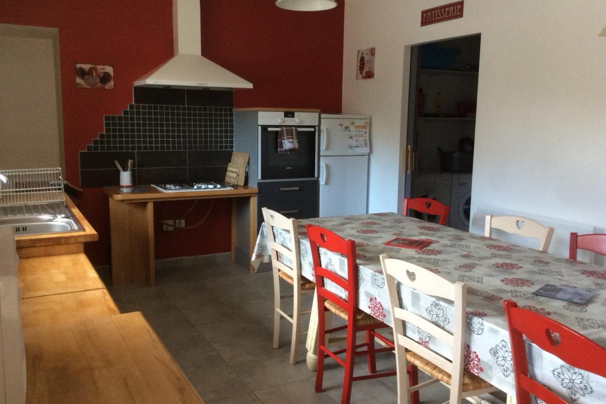 Cuisine - Location de vacances - Saint-Vincent-sur-Oust