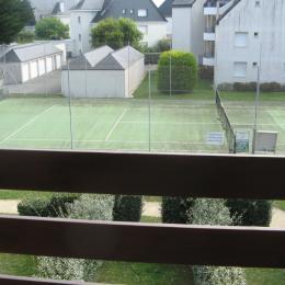 Tennis- vue de l'appartement - Location de vacances - Quiberon