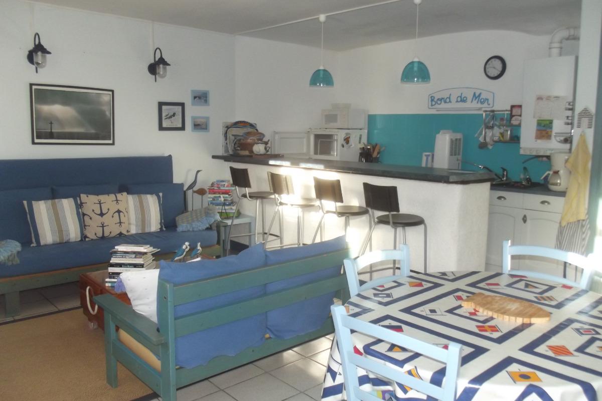 Pièce principale - Location de vacances - La Trinité-sur-Mer
