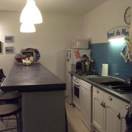 vue accès jardin et chambre - Location de vacances - La Trinité-sur-Mer
