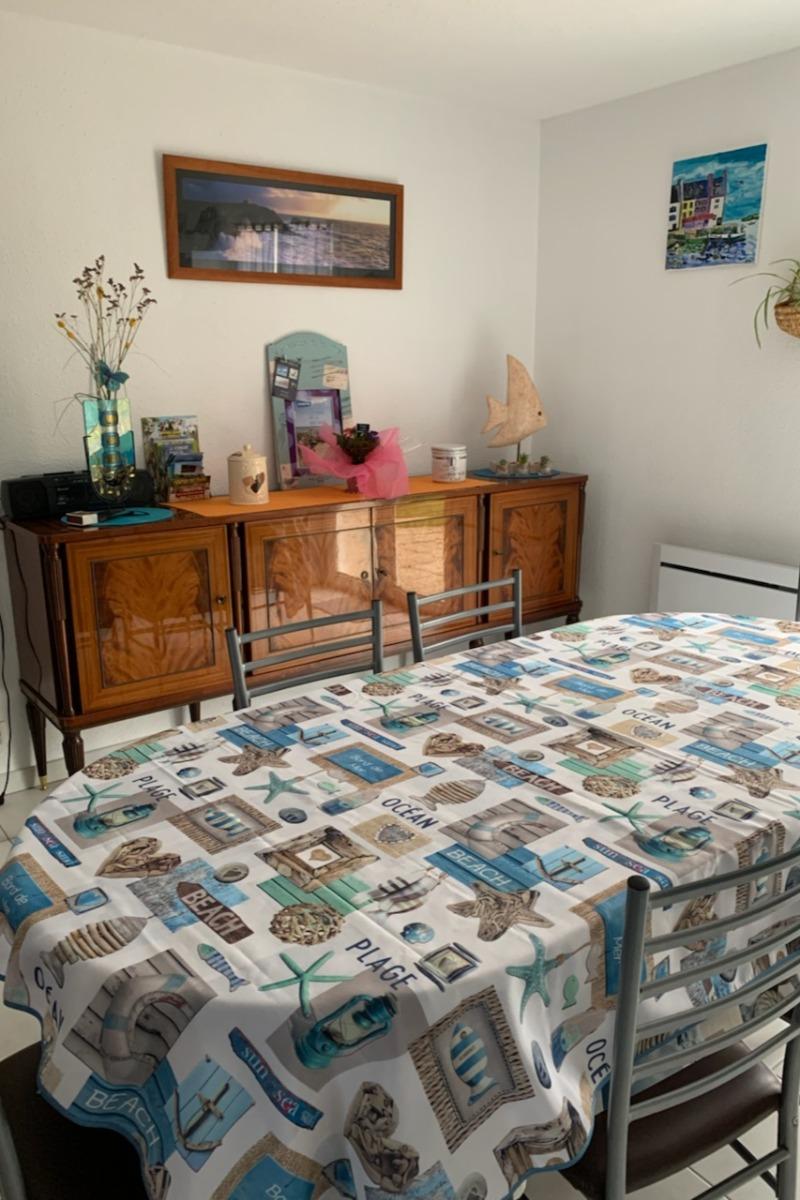 séjour +cuisine - Location de vacances - Pénestin