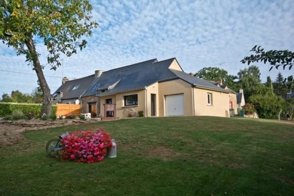 Belle rénovation moderne maison de pays pierres et poutres apparentes - Location de vacances - Saint-Abraham