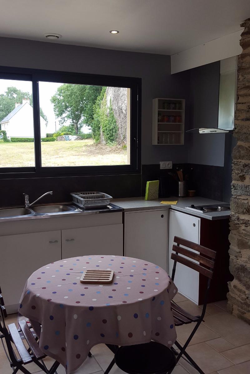 Cuisine indépendante  - Location de vacances - Saint-Abraham