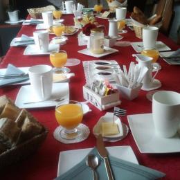 Petit déjeuner - Chambre d'hôtes - Peillac