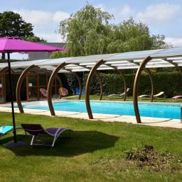 piscine - Location de vacances - La Vraie-Croix
