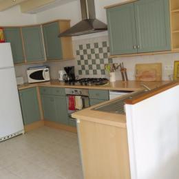 cuisine - Location de vacances - La Vraie-Croix