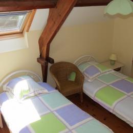 chambre 2 - Location de vacances - La Vraie-Croix