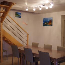 La salle à manger  - Location de vacances - Ambon