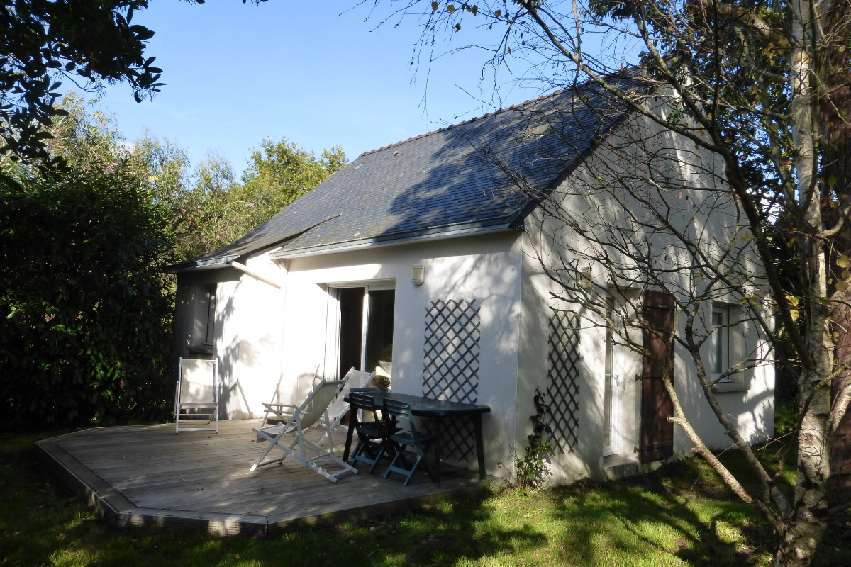 Maison côté terrasse - Location de vacances - Locmariaquer