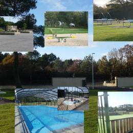 Le parc - Location de vacances - Marzan