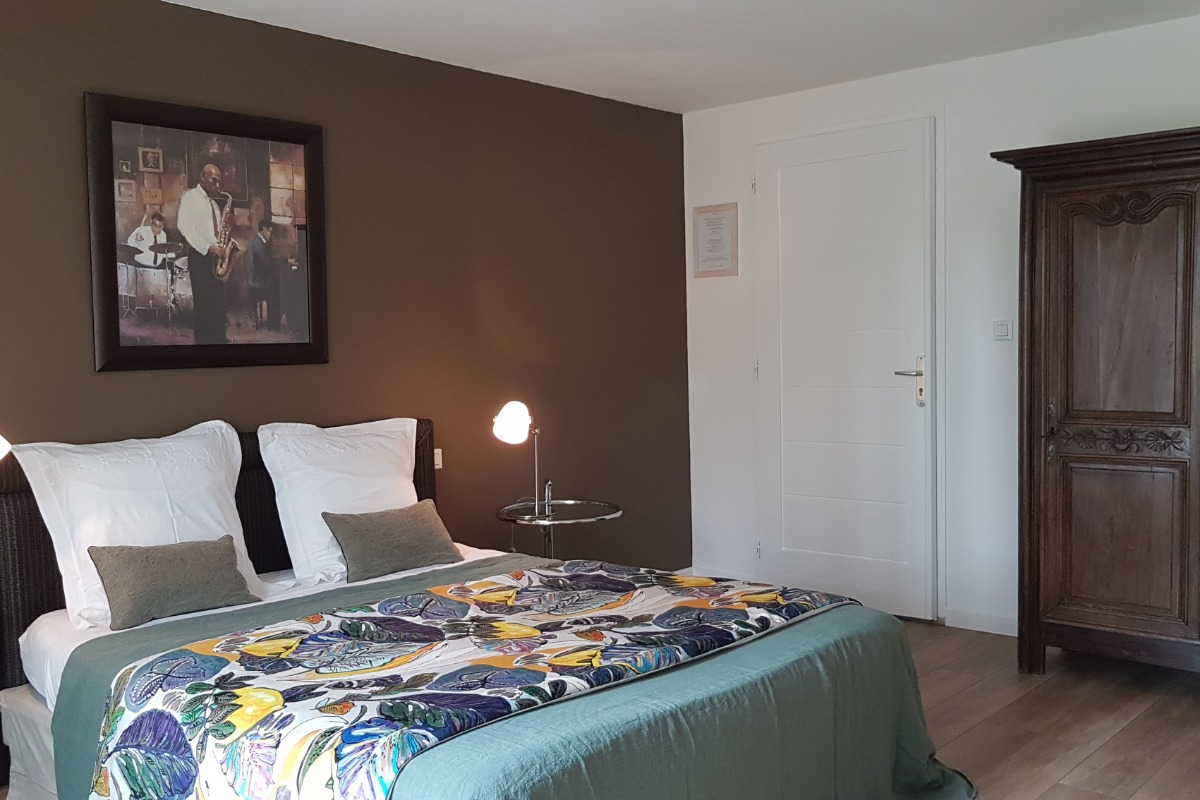 Bois Flotté chambre double avec terrasse - Chambre d'hôtes - Locoal-Mendon