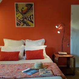 Fleur d'Oranger chambre triple familiale - Chambre d'hôtes - Locoal-Mendon