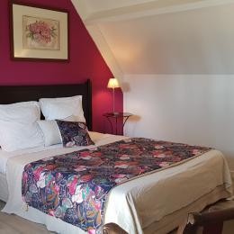 Fleur d'Orient chambre double - Chambre d'hôtes - Locoal-Mendon