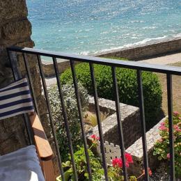 VUE DU SEJOUR  - Location de vacances - Arzon