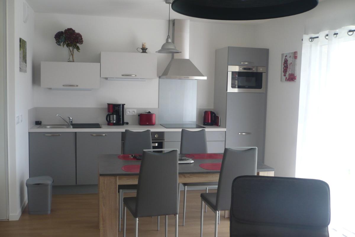 La cuisine aménagée - Location de vacances - Sarzeau